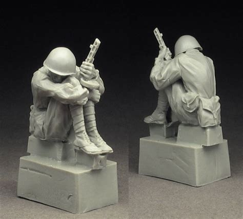 Resin Figures 135 Army Rifleman 1941 42 army rifleman 1941 42 findmodelkit