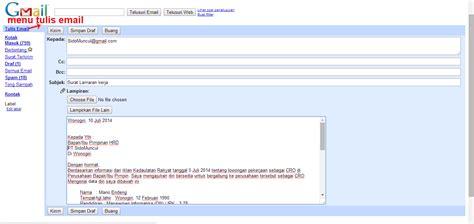 cara membuat cv yang baik melalui email 10 contoh surat lamaran kerja via email ben jobs