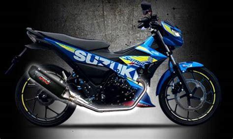Knalpot Racing For Zuzuki Satria Fu Injeksi 2 knalpot untuk satria f150 injeksi informasi otomotif