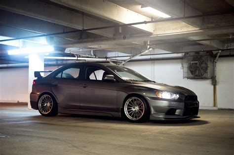 mitsubishi lancer stance mitsubishi lancer evo x stance tuning lowered jdm car