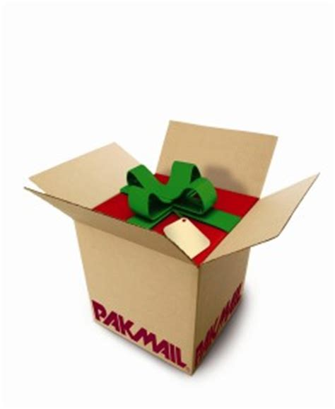 gifts by mail tips for present shipping pak mail