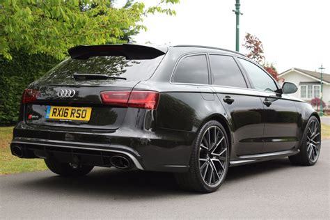 audi r6 avant for sale used panther black audi rs6 avant performance for sale