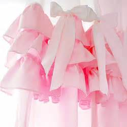 pink ruffle blackout curtains ruffle curtain