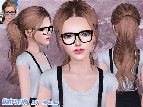 sims 2 female hair tsr the sims resource skysims hair 201