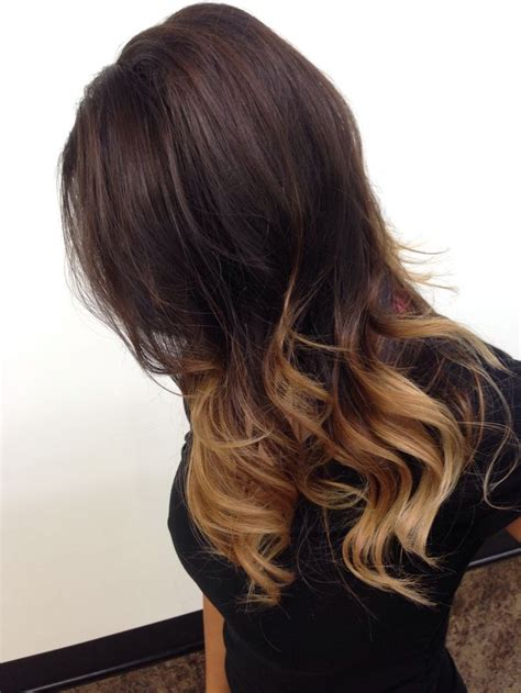 medium brown with blonde ombre dark brown with blonde ombre medium length www pixshark