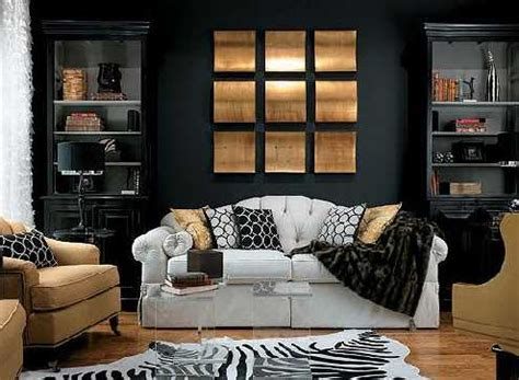 home decor by color 20 modern ideas bringing black color into country style decor