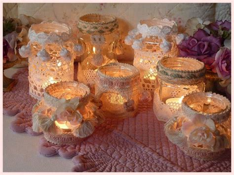 Porta Candele Natalizie Fai Da Te - porta candele fai da te in stile shabby bellissime ed