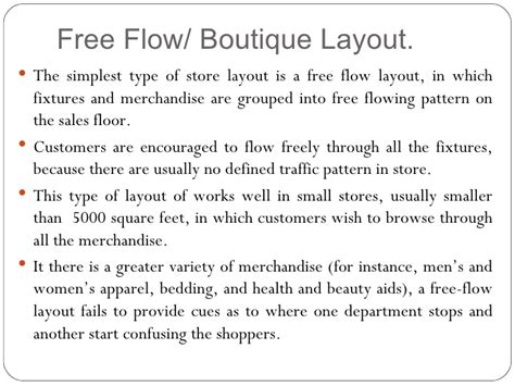 store layout meaning store design