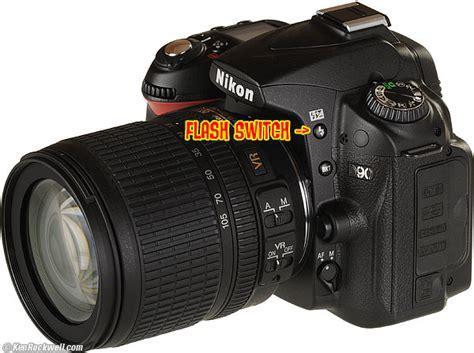 Nikon D90 Front Controls