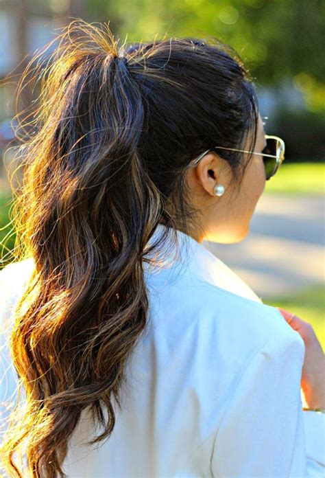 17 best ideas about cool ponytails on summer