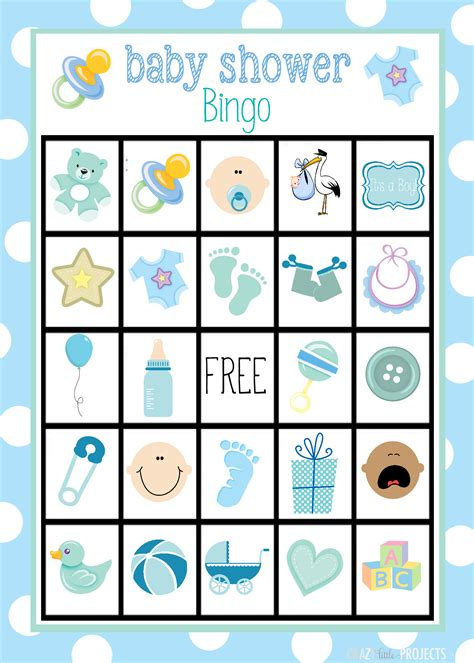 free baby shower bingo template baby shower bingo cards