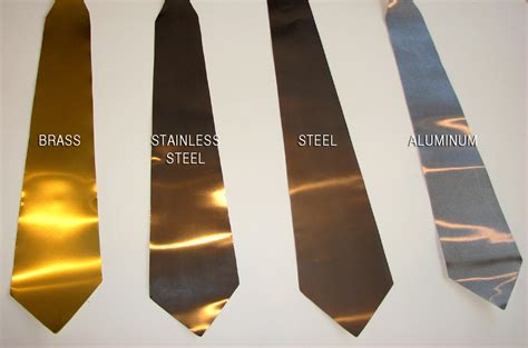Metal Neckties: Are You A Silver Or A Gold Person?   Bit Rebels