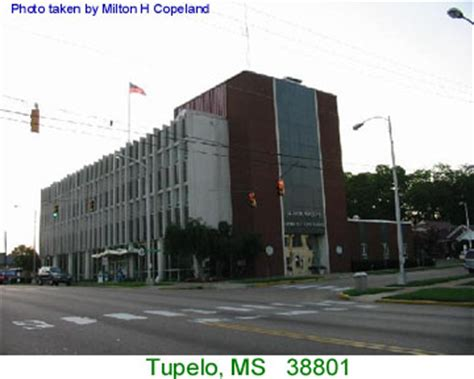 Post Office Tupelo Ms by Mississippi Post Offices