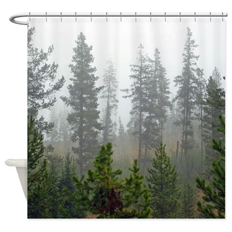 rainforest shower curtain misty forest shower curtain by saltypro shop