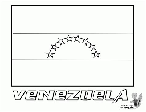 flag coloring pages with key venezuela flag coloring page coloring home
