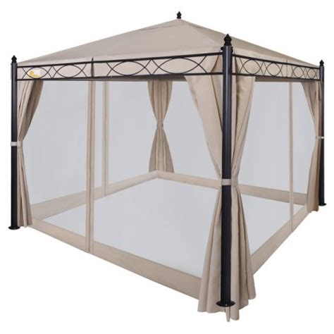 Walmart Patio Canopy by Palm Springs 10ft X 10ft Deluxe Patio Canopy With Mosquito