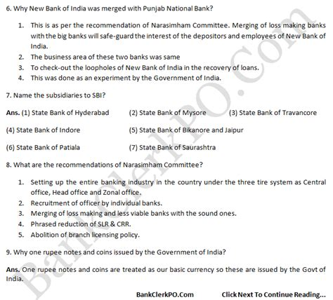 ibps common questions and answers 2013 ciq po clerk so