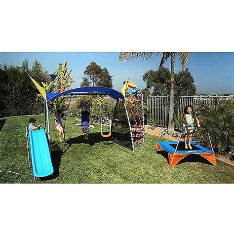 walmart outdoor swing sets ironkids cooling mist inspiration 750 fitness playground
