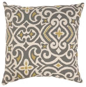 Zebra Rugs At Target Pillow Perfect Grey Greenish Yellow Damask Throw Pillow