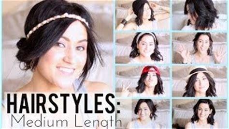 easy last minute hairstyles for school ミディアム偏 動画を見ながら自分でできる結婚式で使えるヘアスタイル weddabroad