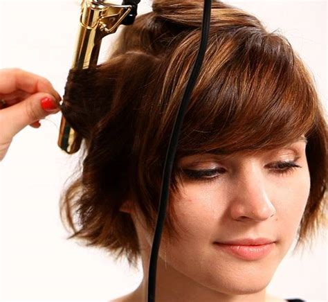 medium hairstyles using curling iron how to use flat iron on layered hair feathered