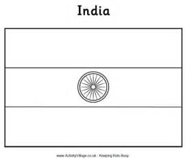 indian flag coloring page india flag colouring page