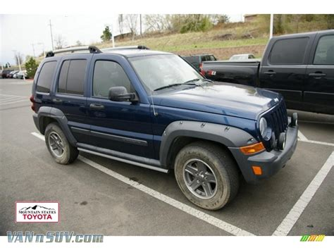 jeep renegade 2005 2005 jeep liberty renegade 4x4 in patriot blue pearl