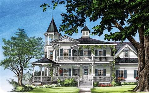 country victorian house plans farmhouse southern victorian house plan 86291