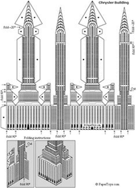 pattern making jobs new york empire state building paper model free paper toys and