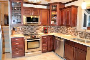 www kitchen ideas kitchen backsplash ideas with maple cabinets with pics