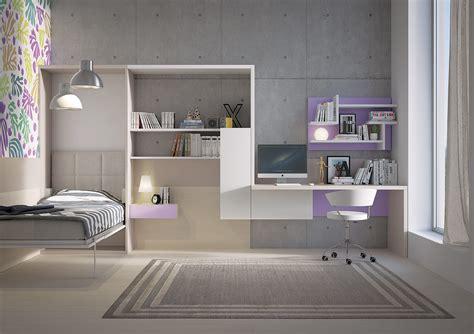 libreria con letto a scomparsa con letto e scaletta contenitore marzorati