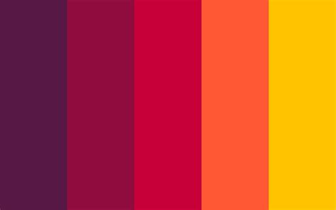 red color combination best color palette generators html color codes
