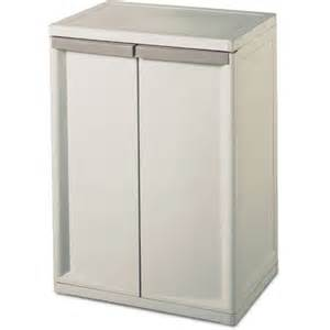 Walmart Kitchen Storage Cabinets Sterilite 2 Shelf Storage Cabinet Walmart