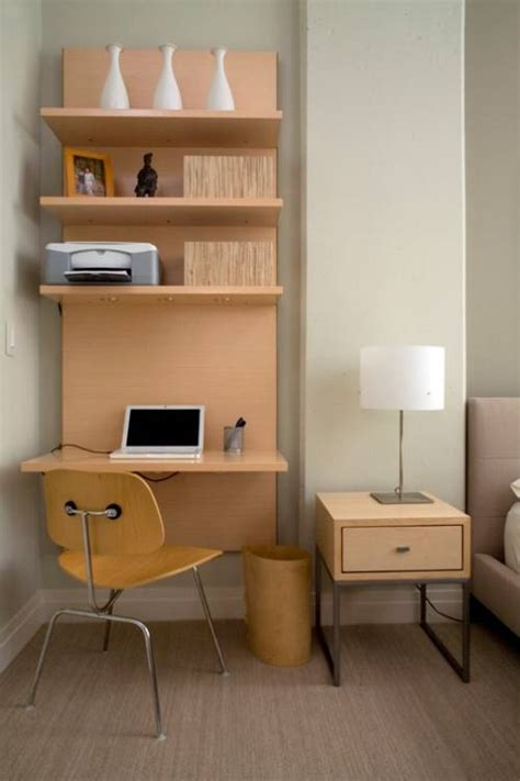 Shelving With Desk by Wall Mounted Desk With Shelves The Interior Design