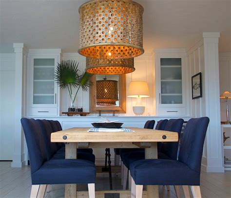 Coastal Interiors Dining And Living Coastal Living 2013 Style Dining Room Other Metro By Wolfe Rizor Interiors