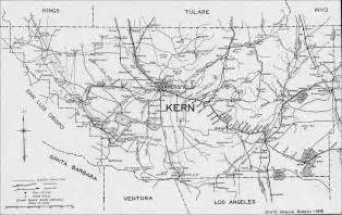 kern county california map kern county 1916 map bakersfield ca mappery