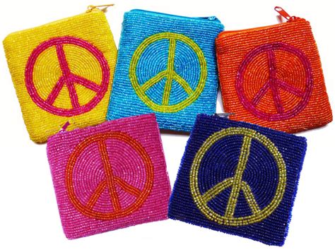 how to make a beaded coin purse beaded peace coin purses beaded peace symbol coin purses