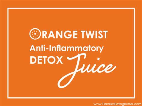 Anti Inflammatory Detox Juice by Orange Twist Anti Inflammatory Detox Juice