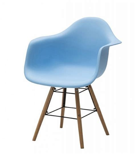 sedia poltroncina sedia poltroncina in propilene con gambe in legno