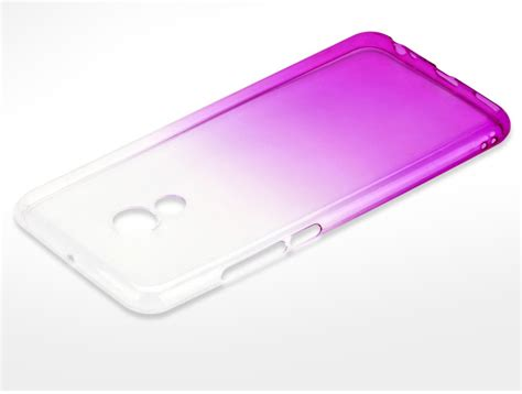 colorful gradual change style soft silicon protective back