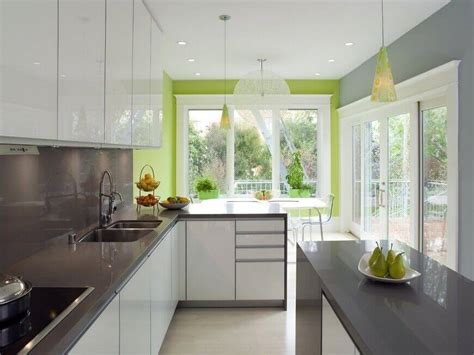 green kitchen color schemes 36 inspiring kitchens with white cabinets and dark granite
