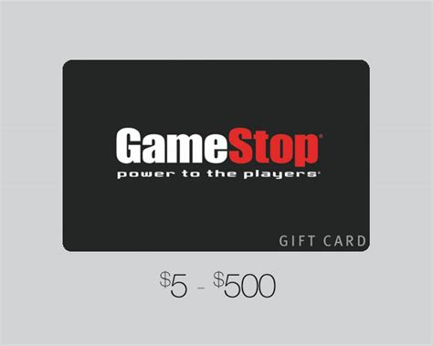 Gift Card Games - gamestop gift card u s games distribution