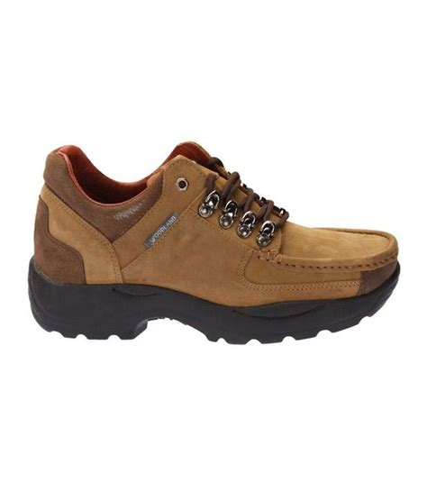 woodland robust camel brown outdoor casual shoes price in