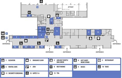 airport terminal layout design terminal maps columbus ga airport
