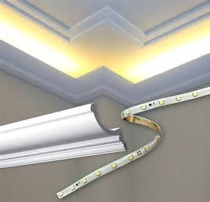 Indirect Ceiling Light Outwater Introduces Cornice Mouldings For Indirect Lighting