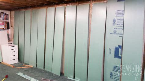 update basement renovation in progress organizing homelife