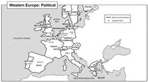Black And White Map Of Europe by Gallery For Gt Map Of Europe Black And White With Country Names