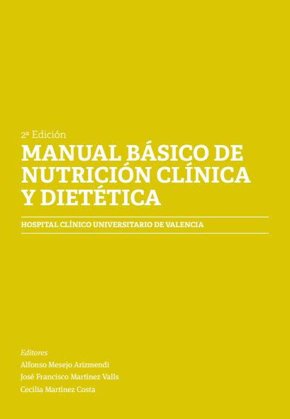 Manual B 225 Sico De Nutrici 243 N Cl 237 Nica Y Diet 233 Tica 2da Edici 243 N