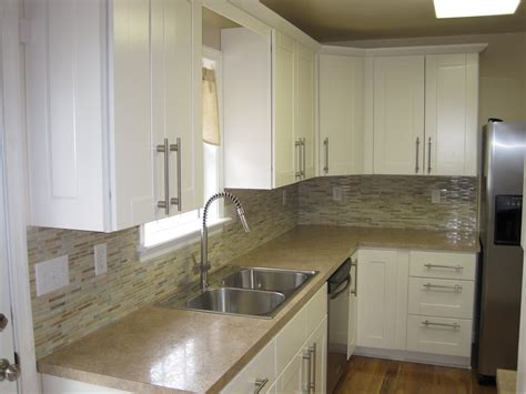 Backsplashes For White Kitchen Cabinets by Handyman Connection Was Contacted By A Customer In