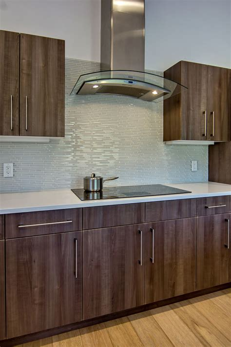 white glass mosaic tile kitchen midcentury with glass tile